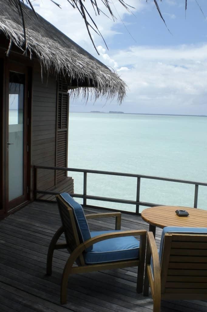 Malediven mit Palmen - kleiner