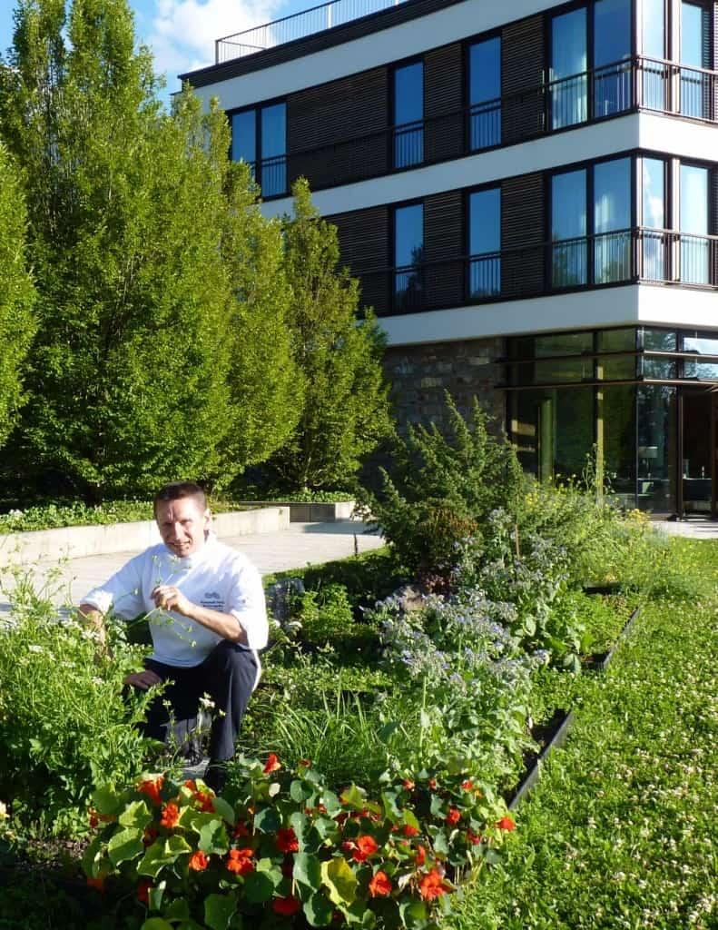 Der Schwarzwälder Ulrich Heimann kocht im Interconti Berchtesgaden