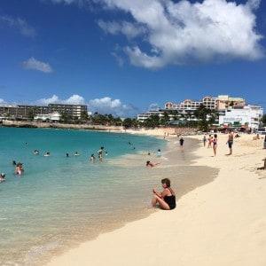 Maho Beach auf Saint Maarten