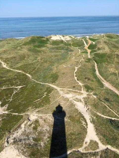 Leuchtturm in Hvide Sande