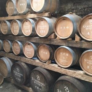Wertvolles Whiskey Lager bei Stauning