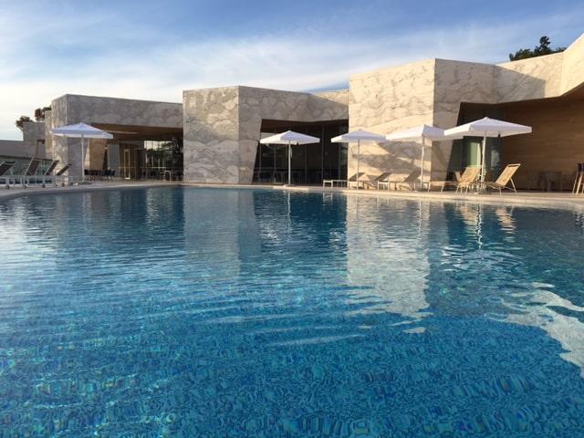 D Resort Sibenik - traumhaft schöne Poolanlage