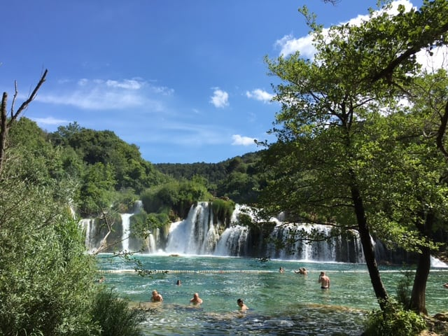 Nationalpark Krka - Badespaß inklusive