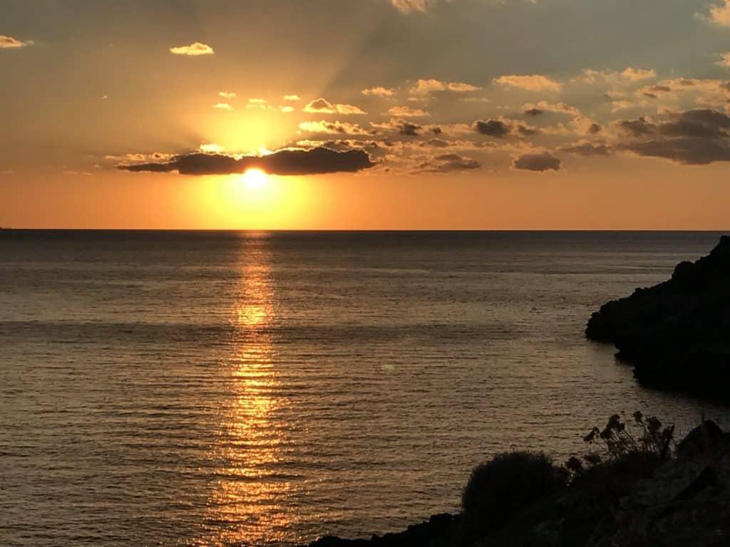 Sonnenuntergang Griechenland