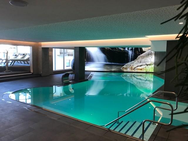 Innen Pool Hotel Post am See Pertisau