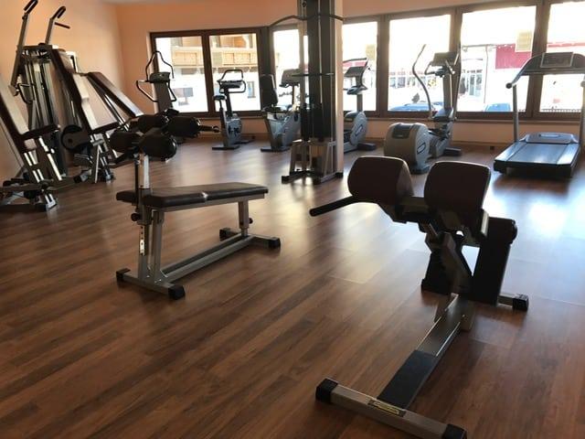 Fitnessgeräte Hotel Post am See Peritsau