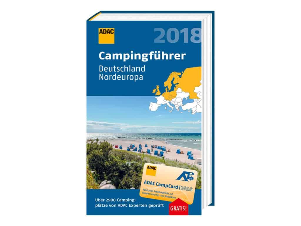 ADAC-Campingführer 2018, Nordeuropa.