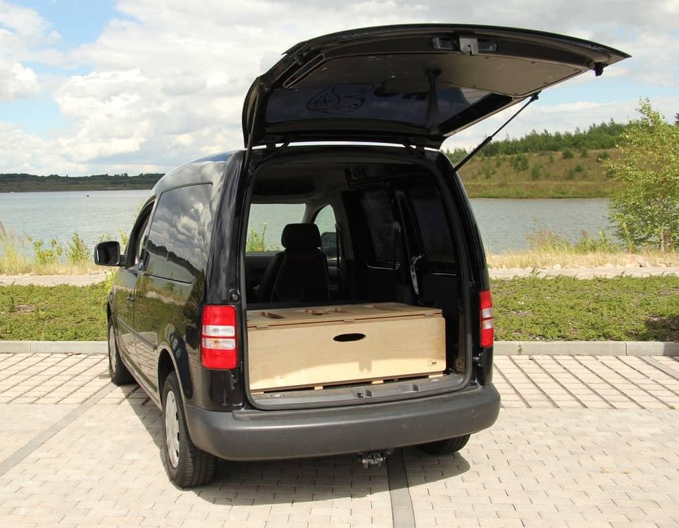 Die Biberbox im VW Caddy
